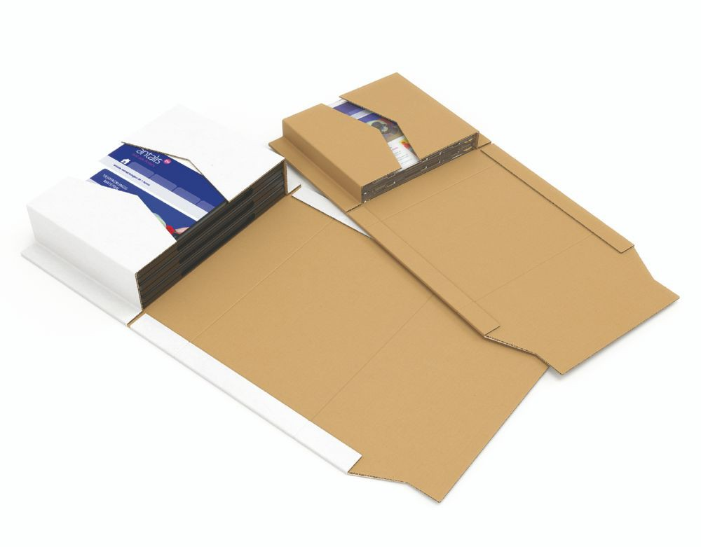 Universal File Desp Folder Whi CP 055.51 ID 320x290x35-80 Ext 377x295x85mm Pack 20