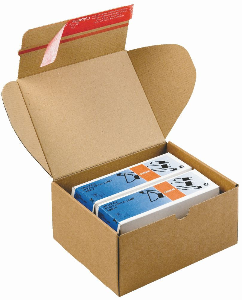 Despatch Box Brown CP 080.06 ID 192x155x91mm Ext 212x161x96mm 20/Pack