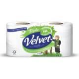 Triple Velvet Toilet Rolls White Code VSCADVW12