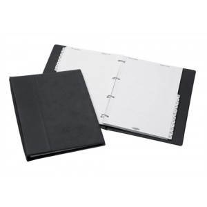 Telephone Index Book Binder with Matching A-Z Index and 20 Sheets A4 Black