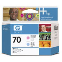Image for HP 70 Light Cyan and Light Magenta Printhead Ref C9405A 3 to 5 Day Leadtime