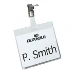 Durable Security NameBadge Pk25 8003