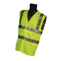 Portwest High Visibility Vest Polyester Large Extra-Large Yellow Ref C470YER L/XL