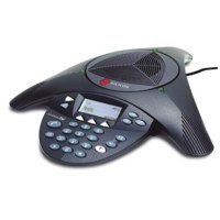 Image for Polycom SoundStation2 Conference Phone Anti-Echo Full Duplex 8-10 Users 360 Deg Pickup Ref PB-PO2