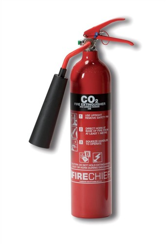 IVG Firechief Fire Extinguisher CO2 for Class A and B and E 2kg Ref IVGS2.0KCO2