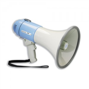 IVG Power Megaphone Hand-held Battery Operated with Volume Control Ref IVGSMEPH