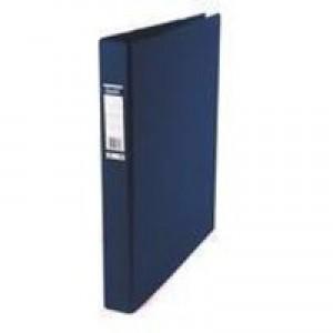 Elba Vision A3 Blu 4DRing Binder Upright