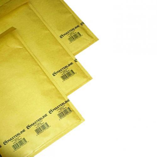 Masterline Gold A/000 Lightweight Postal Bag 110X165mm Internal Pack 200