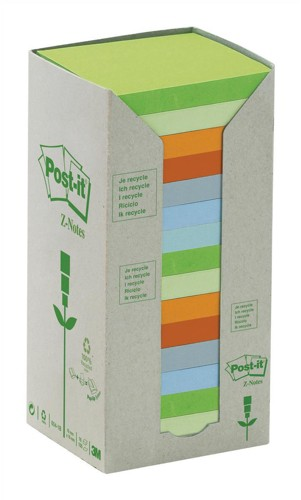 Post-It Z-Note Tower Pastel Pack 16 Code R330-1RPT