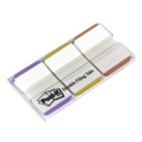 3M Post-It Index 1in Strong Assorted Colours Code 686L-PGO