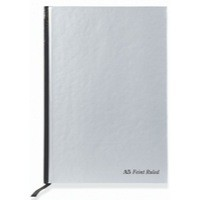 Pukka Pad Casebound Book A5 Silver/Black 190 Pages Ruled Feint and Margin RULA5