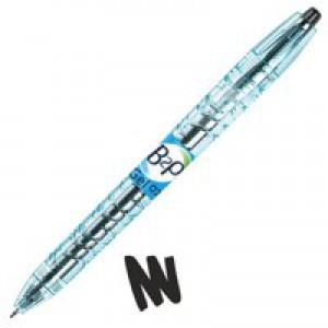 Pilot Bottle 2 Pen Rollerball Pen 0.7mm Black 054101001