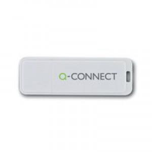 Q-Connect Silv/Blk USB 16Gb Swivel Drive