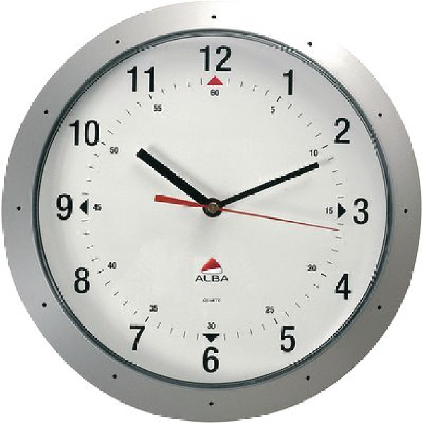 Wall Clock Diameter 320mm Grey