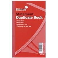 Silvine Dup Statement Bk 1-100 8X5 609