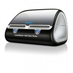 Dymo Labelwriter 450 Twin Turbo USB with Software 71 per minute for 13 Types Labels Ref S0838910
