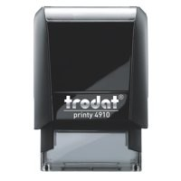 Trodat Printy VC/4910 Custom Stamp Self-Inking Up to 3 lines 26x10mm Ref 199881