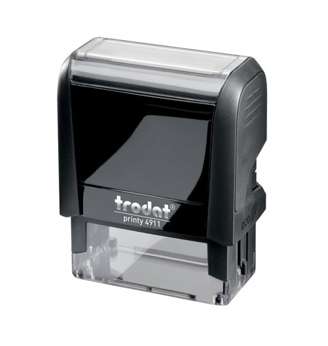 Trodat Printy VC/4911 Custom Stamp Self-Inking Up to 4 lines 38x14mm Ref 199895