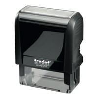 Trodat Printy VC/4912 Custom Stamp Self-Inking Up to 5 lines 47x17mm Ref 199896