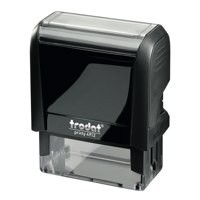 Trodat Printy VC/4912 Custom Stamp Self-Inking Up to 5 lines 47x17mm Ref 199896