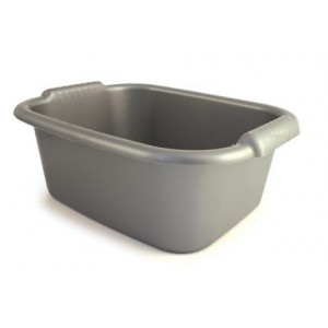 Bentley Washing Up Bowl Rectangular Silver