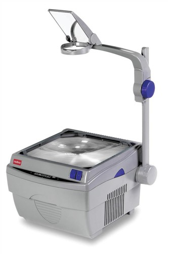 Nobo Quantum 2521Overhead Projector 2 Lamps Single Lens 2200 ANSI Lumens 8.15kg Ref 1900563