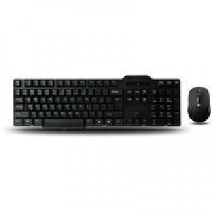 Q-Connect Black Wireless Keyboard/Mouse