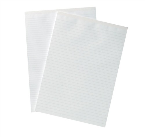 Silvine A4 Memo Pad Headbound Wide Ruled 160 Pages Code A4MEMO