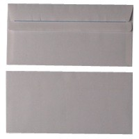 White S/Seal DL Envelope 80gsm Pk1000