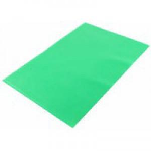 Q-Connect A4 Green Cut Flush Folder P100