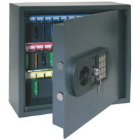 High Security Key Safe with Electronic Key Pad and 30mm Double Bolt Locking 60 Keys