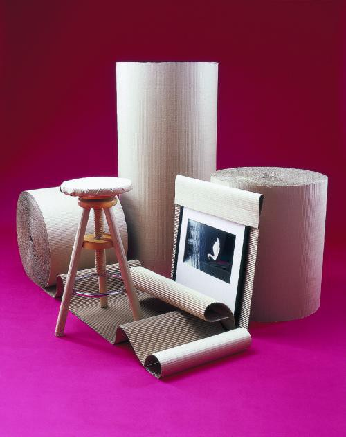 Corrugated Roll Single Faced 450mm x 75 Metres