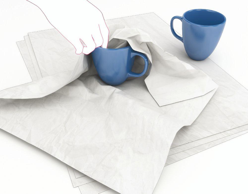 Masterline MG Cap Tissue White 450 x 700mm 19gsm 480 Sheet