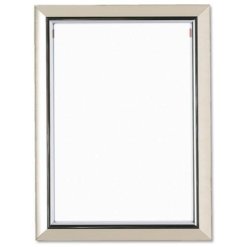 Deluxe Certificate Frame Non Glass Holds A4 Silver