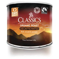 Cafe Direct Classics Decaffeinated Instant Coffee Fairtrade Organic Roast 500g Code A06784