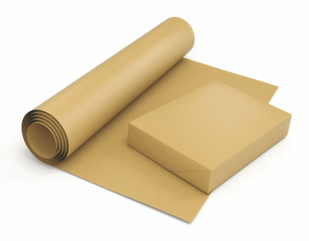 Masterline MG Pure Kraft Counter Rolls 750mm x 220 Metres 185mm O.D. 90gm