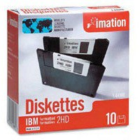 Imation Diskette 3.5 inch DSHD IBM Formatted Pack of 10 12881