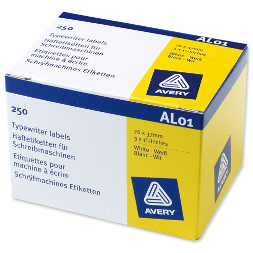 Avery Addr Label Roll 89x37 AL01