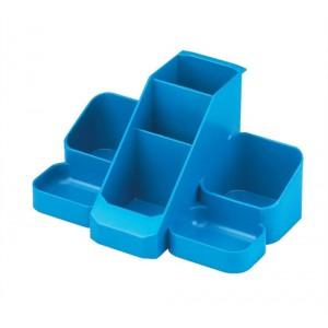 Avery Basics Desk Tidy 7 Compartments W164xD116xH85mm Blue Ref 1137BLUE