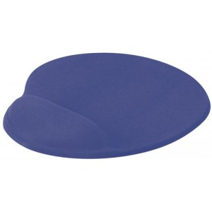 Mouse Mat Ergonomic Non Slip with Gel Wrist Rest Blue