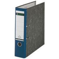 Leitz Standard Lever Arch File 80mm Spine Foolscap Blue Ref 1082-35 [Pack 10]