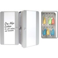 Key Safe with Drywipe Front Messaging Surface 50 Key Hooks and Fobs