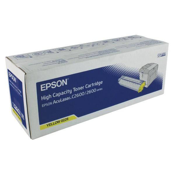Epson AcuLaser C2600 Toner Cartridge High Capacity Yellow C13S050226