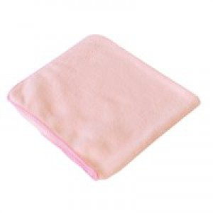 2Work Red 400mm Microfibre Cloth Pk10