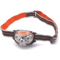 Energizer Pro Advanced Headlight Torch 5 Bright LED 2 Red LED Weatherproof Pivot Head 20hr Ref 631638