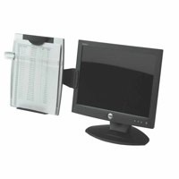 Fellowes Office Suites Monitor Mount Copyholder with Adjustable Tilt and Movable Line Guide Ref 8033301