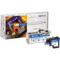 Hewlett Packard No81 Dye Print Head and Cleaner Yellow C4953A