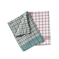 Image for Tea Towels Chequered Ref SPC/TT01/10 [Pack 10]