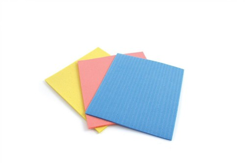 Sponge Cloths Cellulose Assorted [Pack 18]