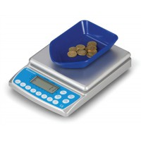 Image for Salter Brecknell Coin Counter Electronic Checking Scale for all UK Coins Ref 402
